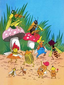 Insect Orchestra - Jack & Jill by Wilmer H. Wickham