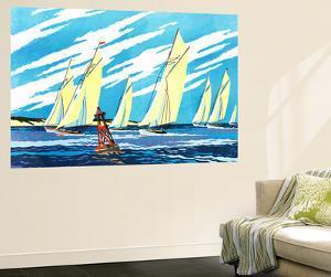 Sailing Ships - Jack & Jill by Wilmer H. Wickham