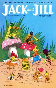Bug Dance - Jack and Jill, August 1955 by Wilmer Wickham