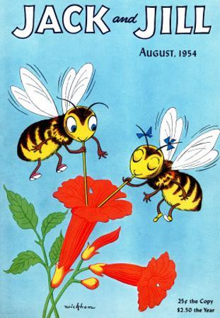 Honey Bee's Delight - Jack and Jill, August 1954