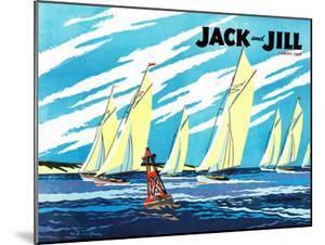 Regatta - Jack and Jill, August 1949 by Wilmer Wickham
