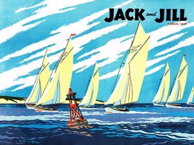 Regatta - Jack and Jill, August 1949