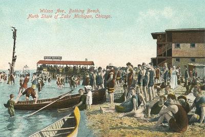 Wilson Avenue Bathing Beach--Art Print