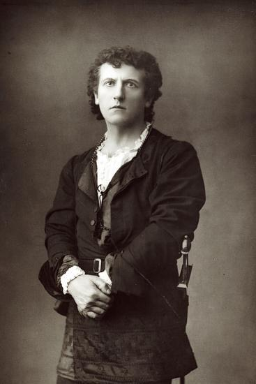 Wilson Barrett (1846-190), English Theatrical Actor-Manager, C1890--Photographic Print