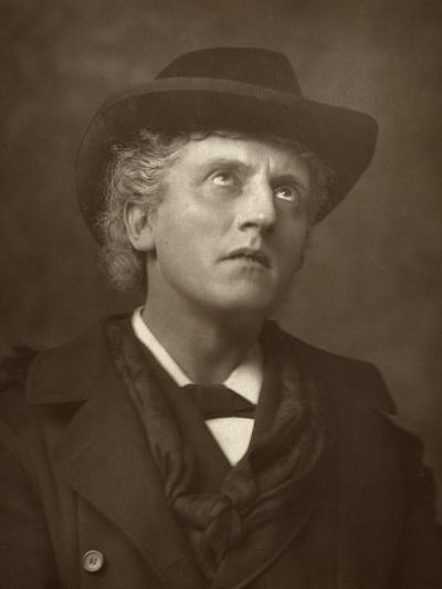 Wilson Barrett, British Actor, Theatre Manager and Playwright, 1883--Photographic Print