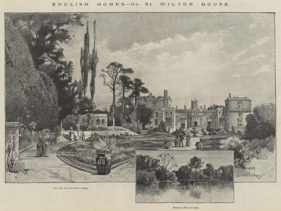 Wilton House-Charles Auguste Loye-Giclee Print