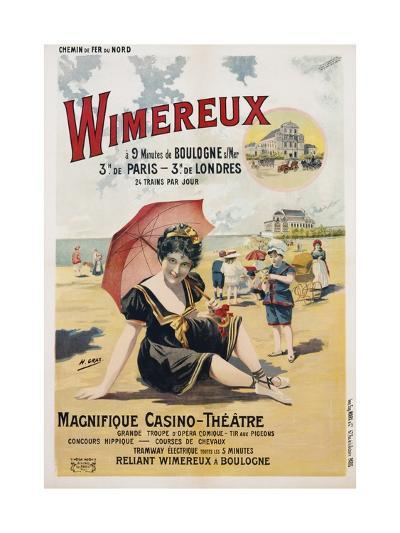 Wimereux Travel Poster-Henri Gray-Giclee Print