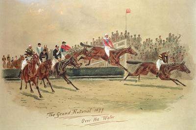 The Grand National, over the Water, 1899