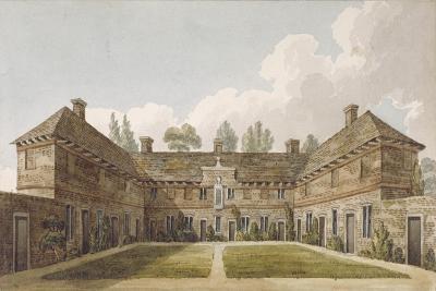 Winchester Almshouses, Richmond Hill, Surrey, C1820--Giclee Print