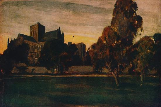 'Winchester Cathedral', 1912-Unknown-Giclee Print