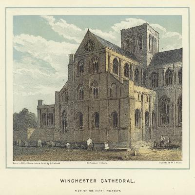 Winchester Cathedral, View of the North Transept-Hablot Knight Browne-Giclee Print