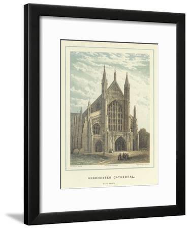 Winchester Cathedral, West Front-Hablot Knight Browne-Framed Giclee Print