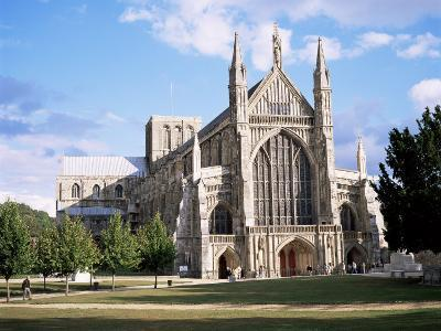 Winchester Cathedral, Winchester, Hampshire, England, United Kingdom-Roy Rainford-Photographic Print