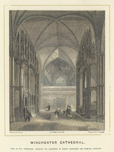 Winchester Cathedral--Giclee Print