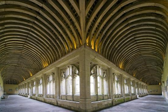 Winchester College Cloister Arcades-Paul Rapson-Photographic Print