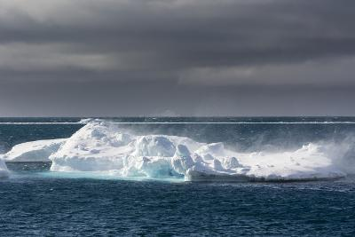 Wind Blowing over the Top of an Iceberg-Sergio Pitamitz-Photographic Print