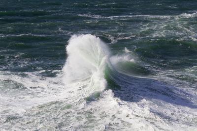 Wind Driven Ocean Waves, Cape Kiwanda, Oregon, USA-Jamie & Judy Wild-Photographic Print