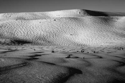 Wind-Driven Patterns in a Snowy Landscape-Robbie George-Photographic Print