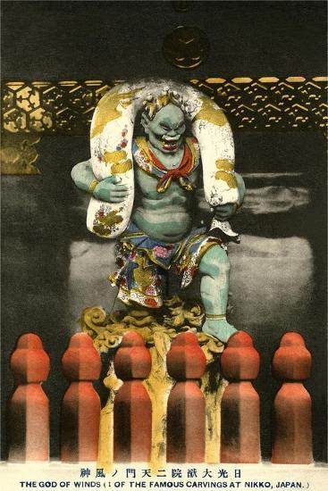 Wind God, Nikko--Art Print