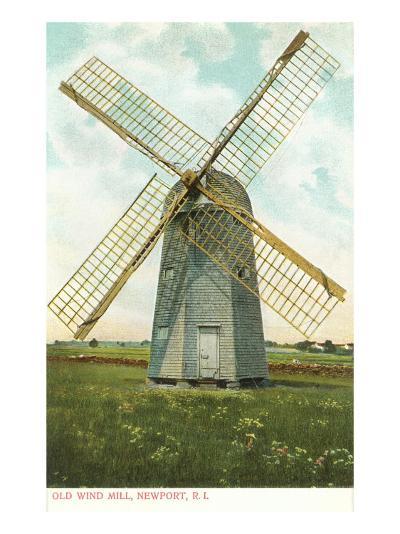 Wind Mill, Newport, Rhode Island--Art Print