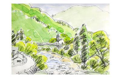 Wind Runs Through the Valley-Kenji Fujimura-Art Print