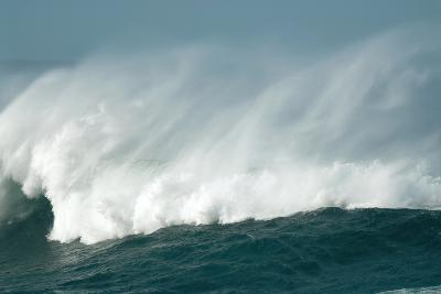 Wind Spray At Sea-Peter Chadwick-Photographic Print
