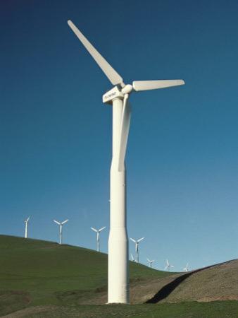 Wind Turbine Generators, Altamonti Pass, Califorrnia, USA