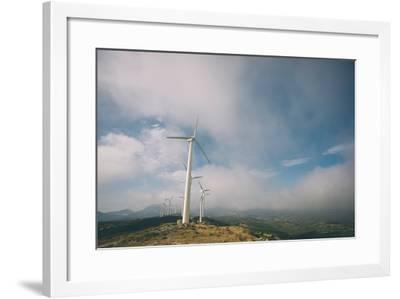 Wind Turbine-Clive Nolan-Framed Photographic Print