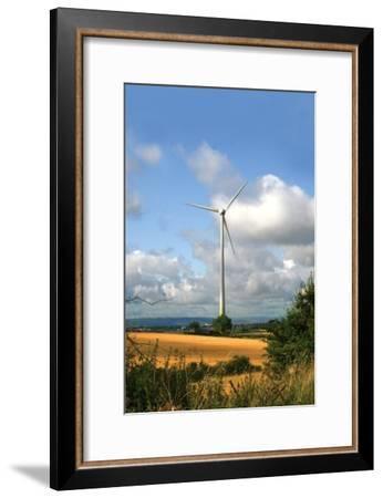 Wind Turbine-Victor Habbick-Framed Photographic Print
