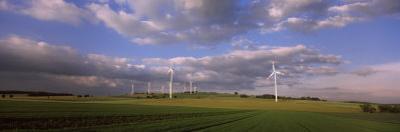 Wind Turbines in a Field, Baden-Wurttemberg, Germany
