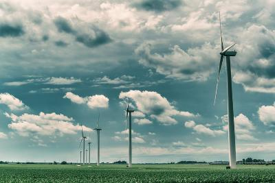 Wind Turbines-Stephen Arens-Photographic Print