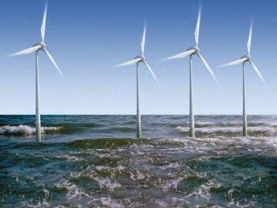 Wind Turbines-Victor De Schwanberg-Photographic Print