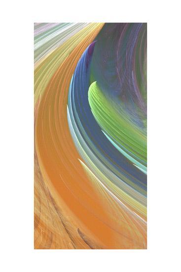 Wind Waves IV-James Burghardt-Art Print