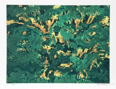 Wind White Leaves-Domenick Turturro-Serigraph