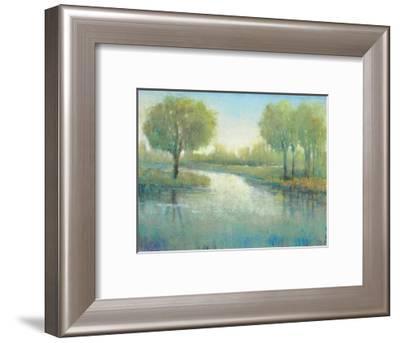 Winding River II-Tim O'Toole-Framed Art Print