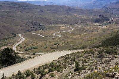 Winding Road, Foothills of the Andes, Argentina-Peter Groenendijk-Photographic Print