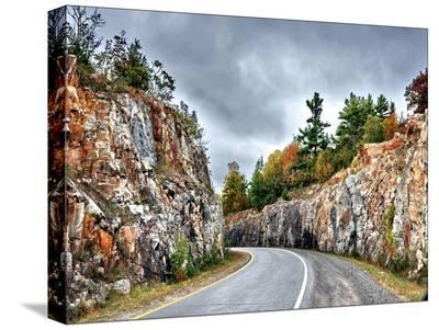 Winding Road-Tatiana Lopatina-Stretched Canvas Print