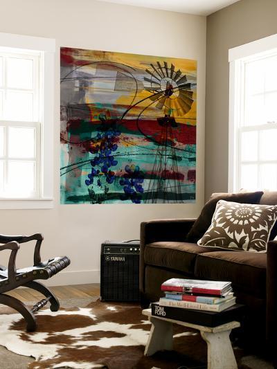 Windmill Abstract-Sisa Jasper-Wall Mural