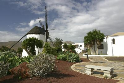 Windmill, Antigua, Fuerteventura, Canary Islands-Peter Thompson-Photographic Print