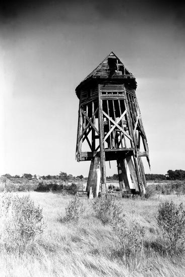Windmill at Honga, Maryland 1935-A. Aubrey Bodine-Photographic Print