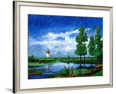 Windmill, Holland, 2006-Trevor Neal-Framed Giclee Print