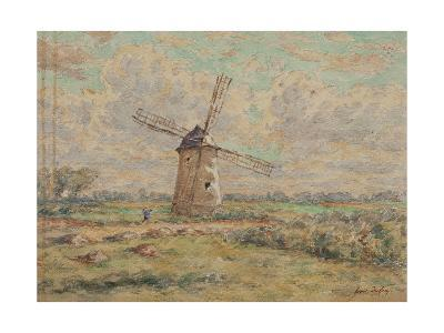 Windmill of Artois-Henri Duhem-Giclee Print