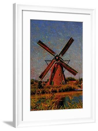 Windmill--Framed Photographic Print