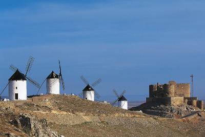 Windmills of Consuegra--Photographic Print