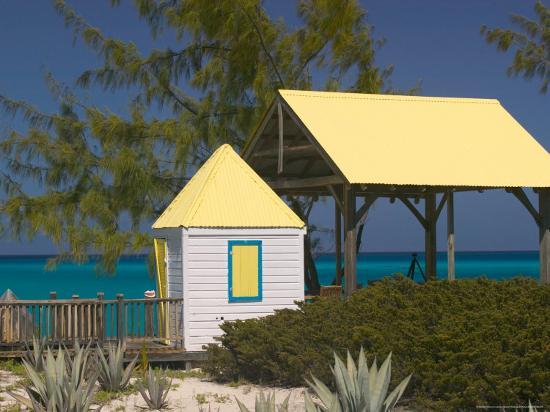 Windmills Plantation Beach House, Salt Cay Island, Turks and Caicos, Caribbean-Walter Bibikow-Photographic Print