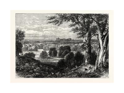 Windor Castle, from Bishopsgate, UK--Giclee Print
