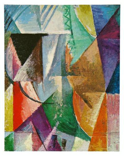 Window, 1912-Robert Delaunay-Art Print