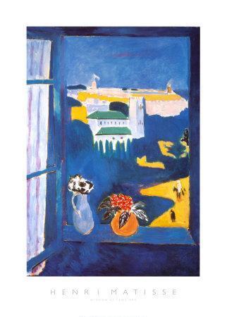 Window at Tangiers-Henri Matisse-Art Print
