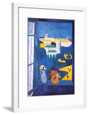 Window at Tangiers-Henri Matisse-Framed Art Print