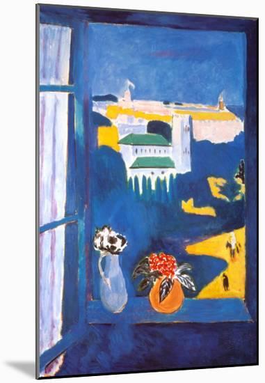 Window at Tangiers-Henri Matisse-Mounted Art Print